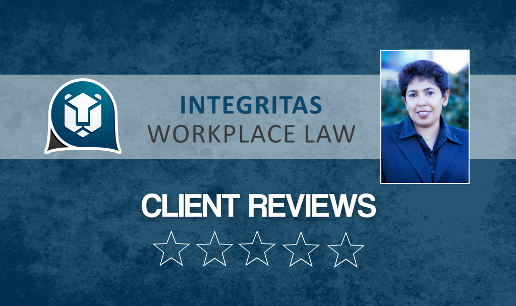 Client Reviews Employment & Labour Law Services